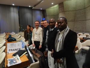 France, Mohamadou et Abdoulaye