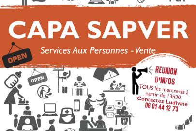 CAP SAPVER - APPRENTISSAGE