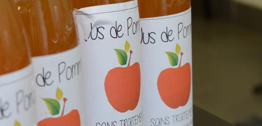 100% naturel, notre jus de pomme