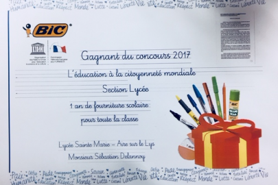 CONCOURS BIC